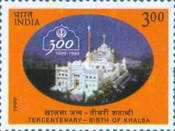 [The 300th Anniversary of the Khalsa Panth (Sikh Order), Typ BEW]