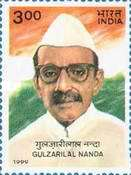 [The 100th Anniversary of the Birth of Gulzarilal Nanda, former Prime Minister, Typ BFB]