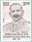 [The 100th Anniversary of the Birth of Brigadier Rajinder Singh, First Recipient of M.V.C. Medal, Typ BGG]