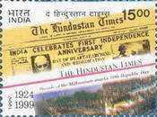 [The 75th Anniversary of Hindustan Times Newspaper, Typ BGP]