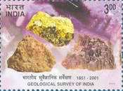 [The 150th Anniversary of Geological Survey of India, Typ BKJ]