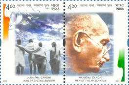 [Mahatma Gandhi-Man of the Millennium, Typ BLO]