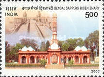 [The 200th Anniversary of the Bengal Sappers, Typ CDX]