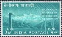 [The 100th Anniversary of Indian Telegraphs, Typ CI]