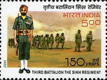 [The 150 Years of Third Battalion The Sikh Regiment, type CIX]