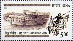 [The Vellore Mutiny 1806, type CJW]