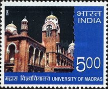 [University of Madras, type CKB]