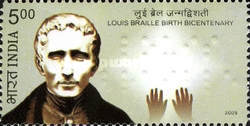 [The 100th Anniversary of the Birth of Louis Braille, Typ CRC]