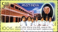 [Convent of Jesus and Mary, Ambala Cantt, Typ CUU]