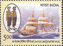 [16 Punjab (2nd Patiala) Regiment, Typ CVL]