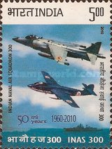 [The 50th Anniversary of Indian Naval Air Squadron, type CWU]