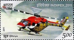 [International Stamp Exhibition INDIPEX 2011, New Delhi - Personalized Stamps, Airplanes, Typ CZG]