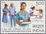 [The 100th Anniversary (2008) of the TNAI - Trained Nurses Association of India, Typ DAN]