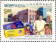 [The 50th Anniversary of the ESIC - Employees' State Insurance Corporation, Typ DBK]