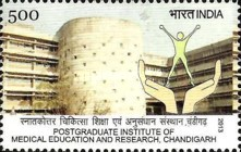 [The 50th Anniversary of the Postgraduate Institute of Medical Education and Research, Chandigarh, Typ DDC]