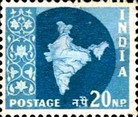 [Map of India, type DJ23]