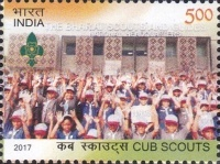 [The 100th Anniversary of the Cub Scouts, Typ DRI]