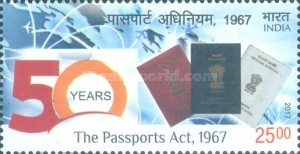 [The 50th Anniversary of The Passport Act, Typ DSP]