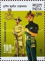 [The 100th Anniversary of the 3 Kumaon Rifles Regiment, Typ DUE]