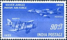 [Silver Jubilee of Indian Air Force, type DV1]
