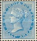 [Queen Victoria, 1819-1901 - Yellowish to White Paper, Watermarked, type E12]