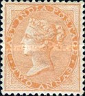 [Queen Victoria, 1819-1901 - Yellowish to White Paper, Watermarked, type E14]