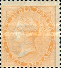 [Queen Victoria, 1819-1901 - Yellowish to White Paper, Watermarked, type E15]