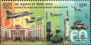 [The 60th Anniversary of the DRDO - Defence Research and Development Organisation, Typ EBH]