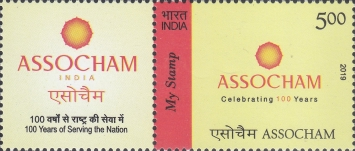 [The 100th Anniversary (2020) of ASSOCHAM - Personalized Vignette, Typ EVF]