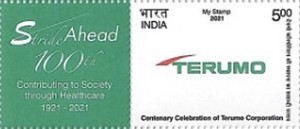 [The 100th Anniversary of the Terumo Healthcare in India - Personalized Vignette, type EXV]