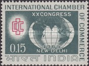 [The 20th International Chamber of Commerce Congress, New Delhi, Typ GW]