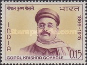 [The 100th Anniversary of the Birth of Gopal Krishna Gokhale, Patriot, Typ HY]