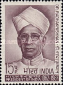 [The 75th Anniversary of the Birth of Sarvepalli Radhakrishnan (Former President), Typ IS]