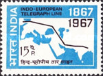 [The 100th Anniversary of the Indo-European Telegraph Service, Typ IZ]