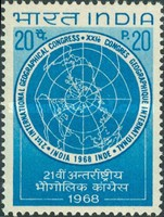 [The 21st International Geographical Congress, New Delhi, Typ JW]