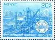 [The 100th Anniversary of Calcutta Port Trust, type LR]
