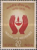 [The 100th Anniversary of the Indian Life Insurance, Typ MA]