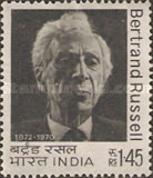 [The 100th Anniversary of the Birth of Bertrand Russell, Philosopher, Typ NC]