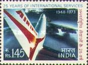 [The 25th Anniversary of Air-India's International Services, Typ NX]