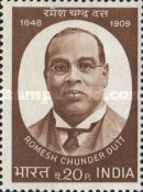 [Romesh Chandra Dutt (Writer) Commemoration, Typ OF]