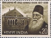 [Syed Ahmad Khan Commemoration, Typ OK]