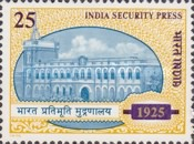[The 50th Anniversary of India Security Press, Typ RM]