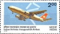 [Inauguration of Indian Airlines' Airbus Service, Typ TC]