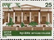 [The 100th Anniversary of Bethune College, Calcutta, Typ VR]