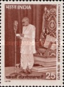 [The 100th Anniversary of the Birth of Chakravarti Rajagopalachari, First Post-independence Governor-General, Typ WB]