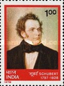 [The 150th Anniversary of the Death of Franz Schubert (Composer), Typ WE]