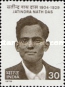 [The 50th Anniversary of the Death of Jatindra Nath Das (Revolutionary), Typ WS]