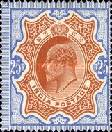 [King Edward VII, 1841-1910, Typ XAR6]