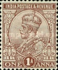 [King George V, 1865-1936 - Stamps of 1911-1926 with New Watermark, type XAX3]