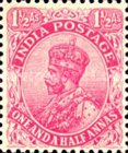[King George V, 1865-1936 - New Colors, type XBJ1]